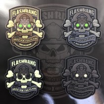 Set of 4 Flashbang patches (Night ops edition / version A)