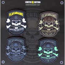 Set of 4 Flashbang patches
