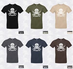 Flashbang pirate T-shirt